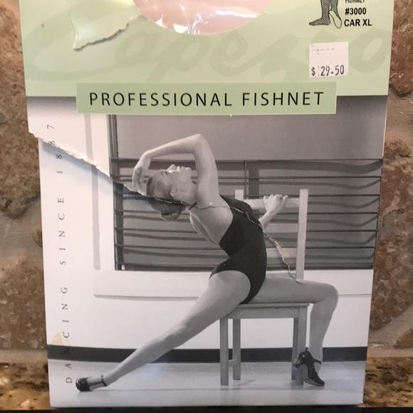 03fccf5140da2 Capezio Accessories   Seamless Professional Fishnet Tights   Poshmark